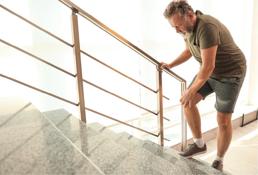 Knieschmerzen Beim Treppengehen